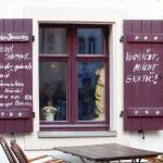 Dekorative Holzfensterläden
