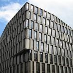 Moderne Glasfront mit ansprechendem Design