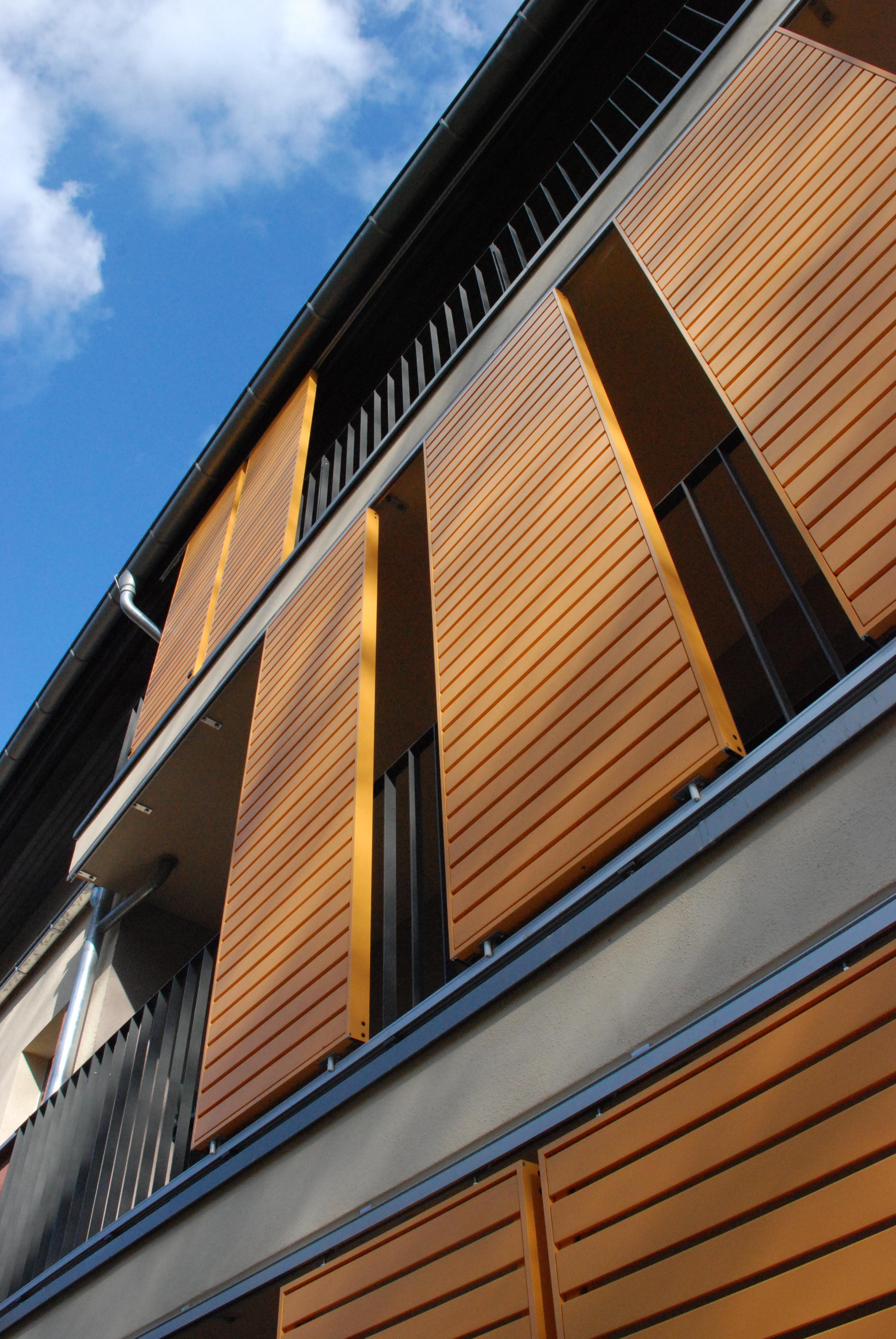 Schiebeläden mit Holz in Wittstock